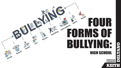 Four Forms of Bullying: High School