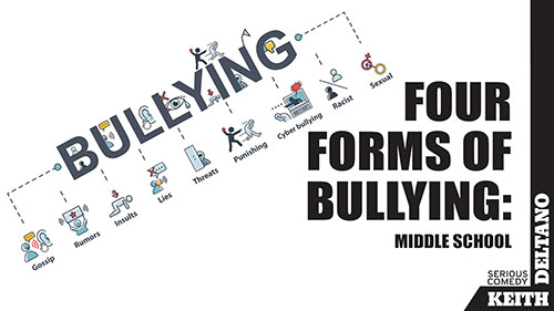 Four Forms of Bullying: Middle School