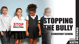 stop bullying activities for teachers and students – elementary students holding a stop bullying sign